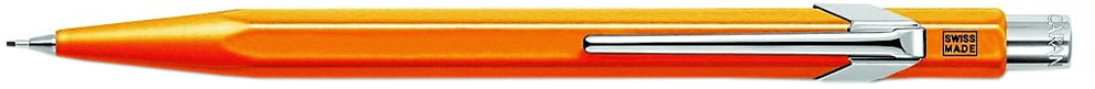 Механический карандаш Caran d'Ache Office Popline Orange Fluo