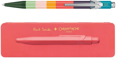 Ручка шариковая Carandache Office 849 Paul Smith Edition 3 Coral Pink M