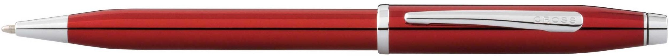 Шариковая ручка Cross Century II Translucent Red Lacquer