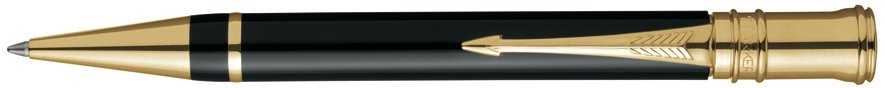 Шариковая ручка Parker Duofold K74 International, Black GT
