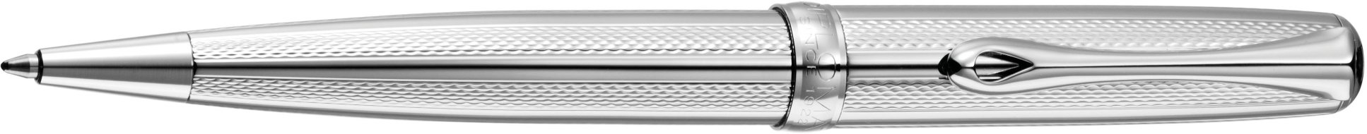 Шариковая ручка Diplomat Excellence A Guilloche Stripes Chrome easyFlow