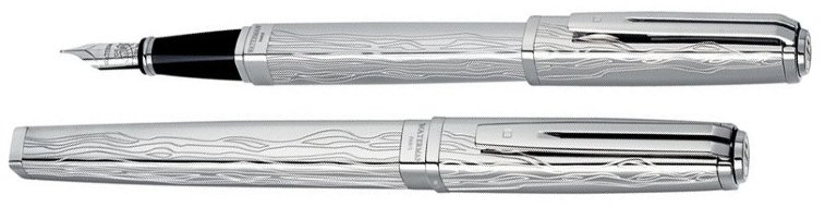 Перьевая ручка Waterman Exception, The Marks of Time - Sterling Silver