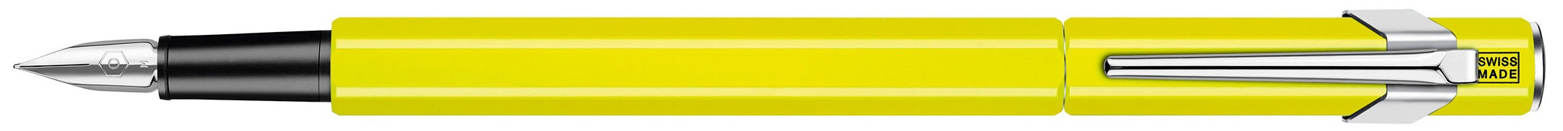 Перьевая ручка Caran d'Ache Office 849 Fluo Yellow