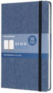 Блокнот Moleskine Limited Edition Denim Large, antwerp blue, линейка
