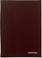 Блокнот Hugo Boss Essential Burgundy, А6, экокожа
