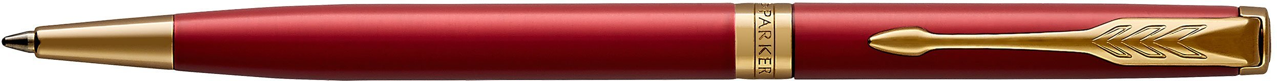 Шариковая ручка Parker Sonnet Core K439 Slim, Lacquer Intense Red GT